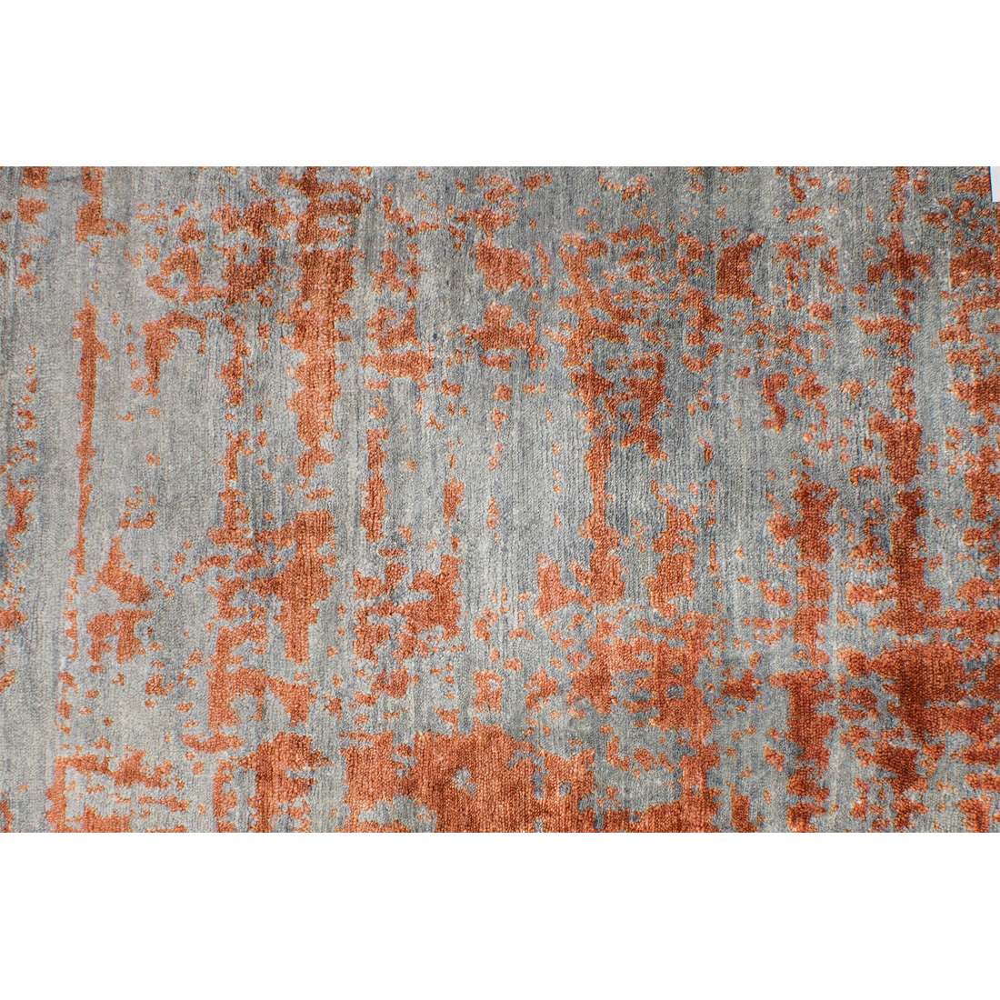 Vloerkleed Xilento Bamboo Grey Orange | 200 x 300 cm