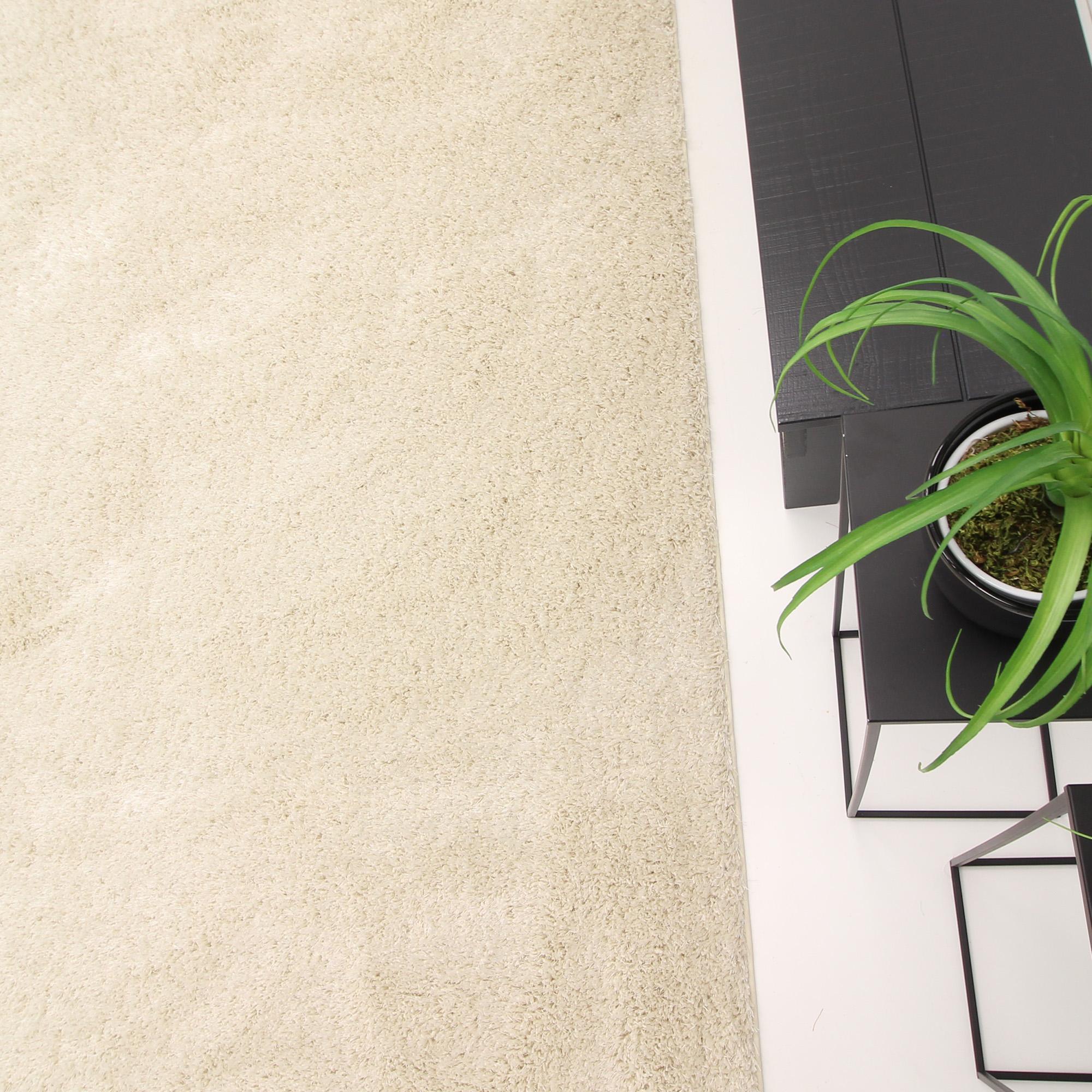 Rond Vloerkleed Xilento Spider Vanille