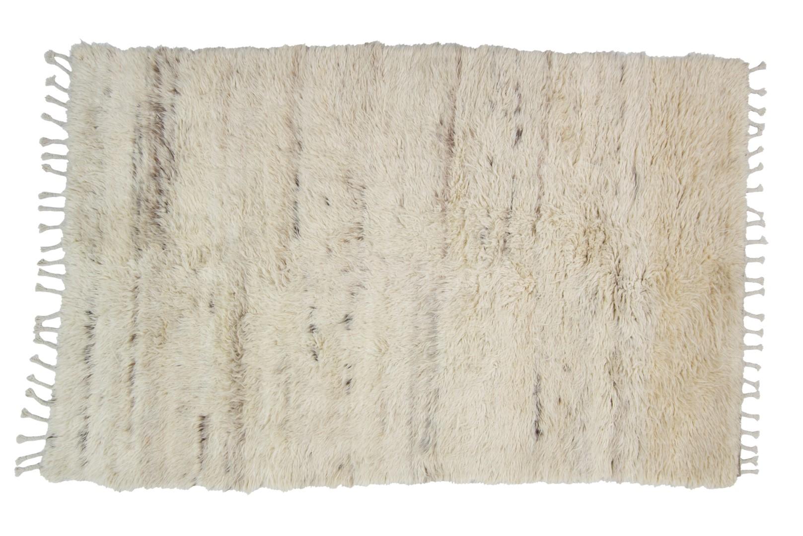 Vloerkleed Brinker Afghano White Natural