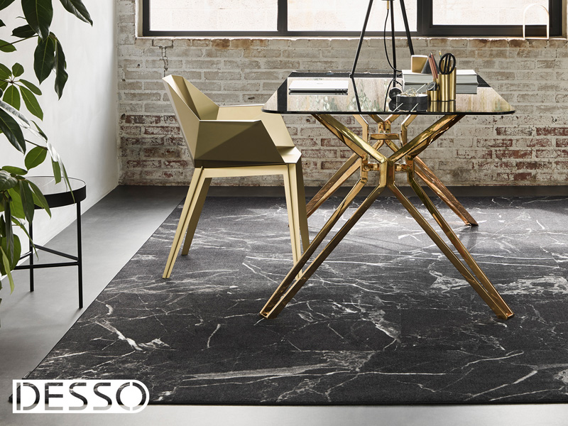 Vloerkleed Desso Sense of Marble 9990