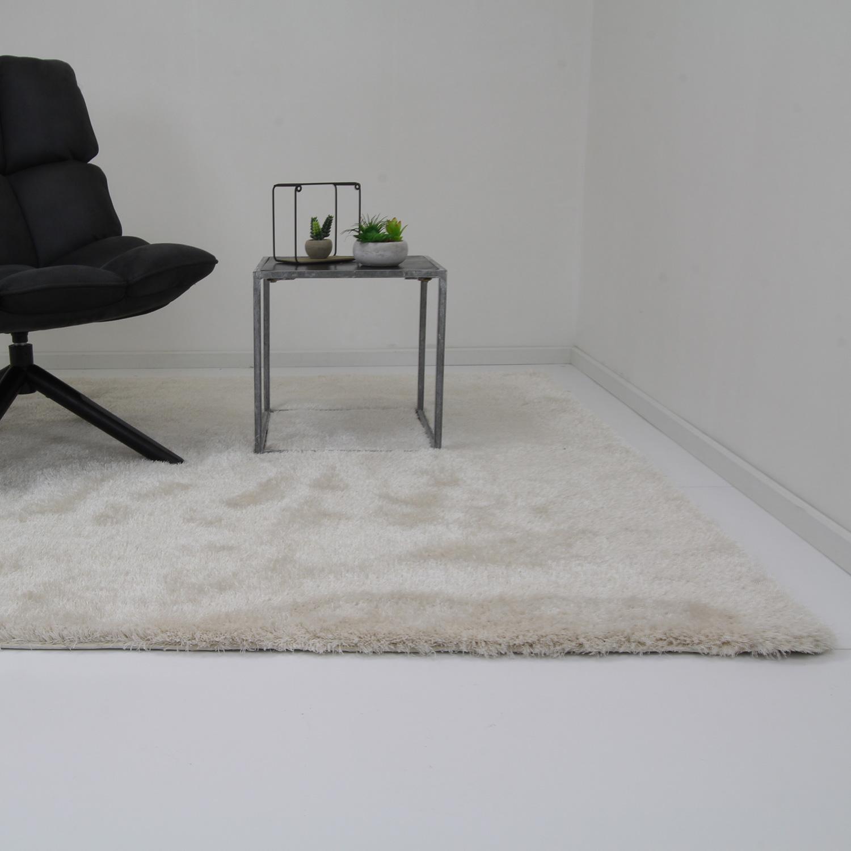 Vloerkleed Xilento Velvet White | 170 x 230 cm