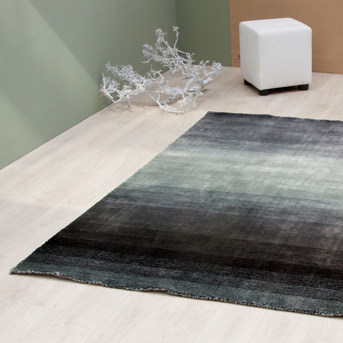 Vloerkleed Xilento Space Anthracite | 170 x 230 cm