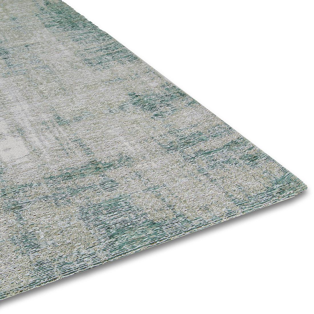 Vloerkleed Brinker Grunge Aqua | 240 x 340 cm