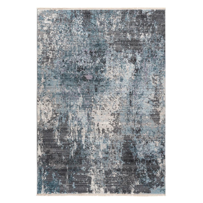 Vloerkleed Lalee Home Medellin 400 Silver Blue | 200 x 290 cm