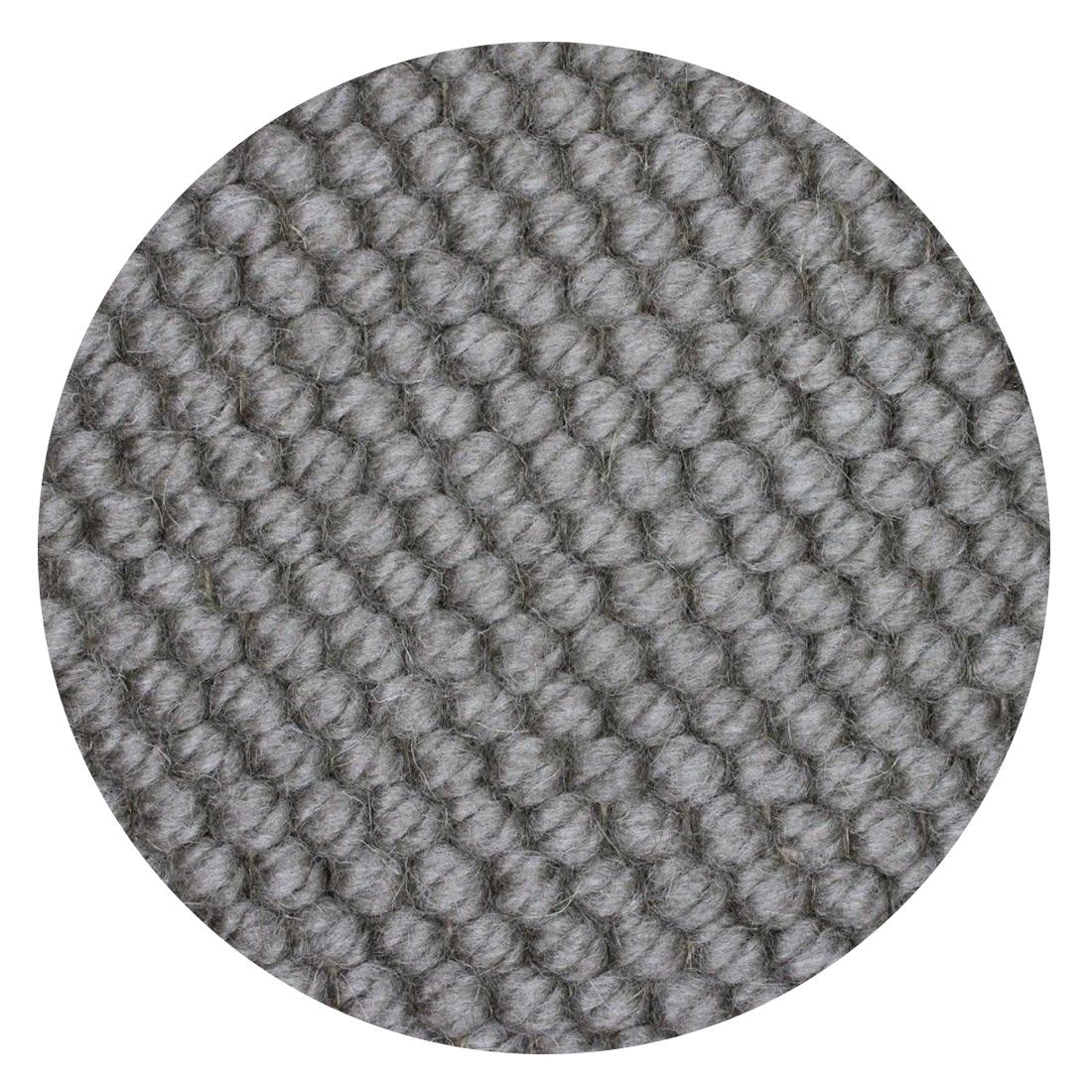 Rond Vloerkleed Nevada Taupe 100 % New Zealand Wool