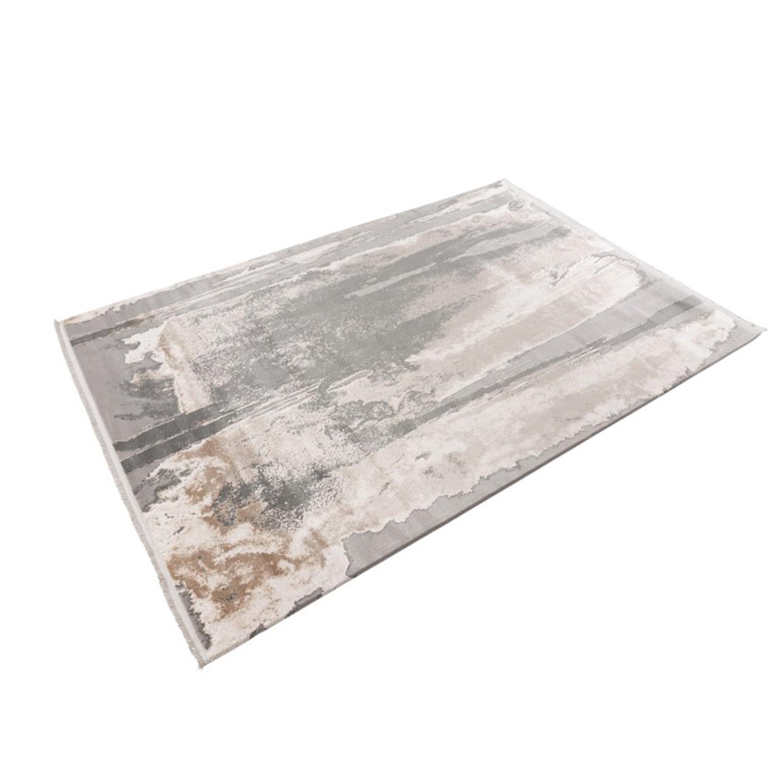 Vloerkleed Lalee Pierre Cardin Trocadero 702 Silver Beige | 200 x 290 cm