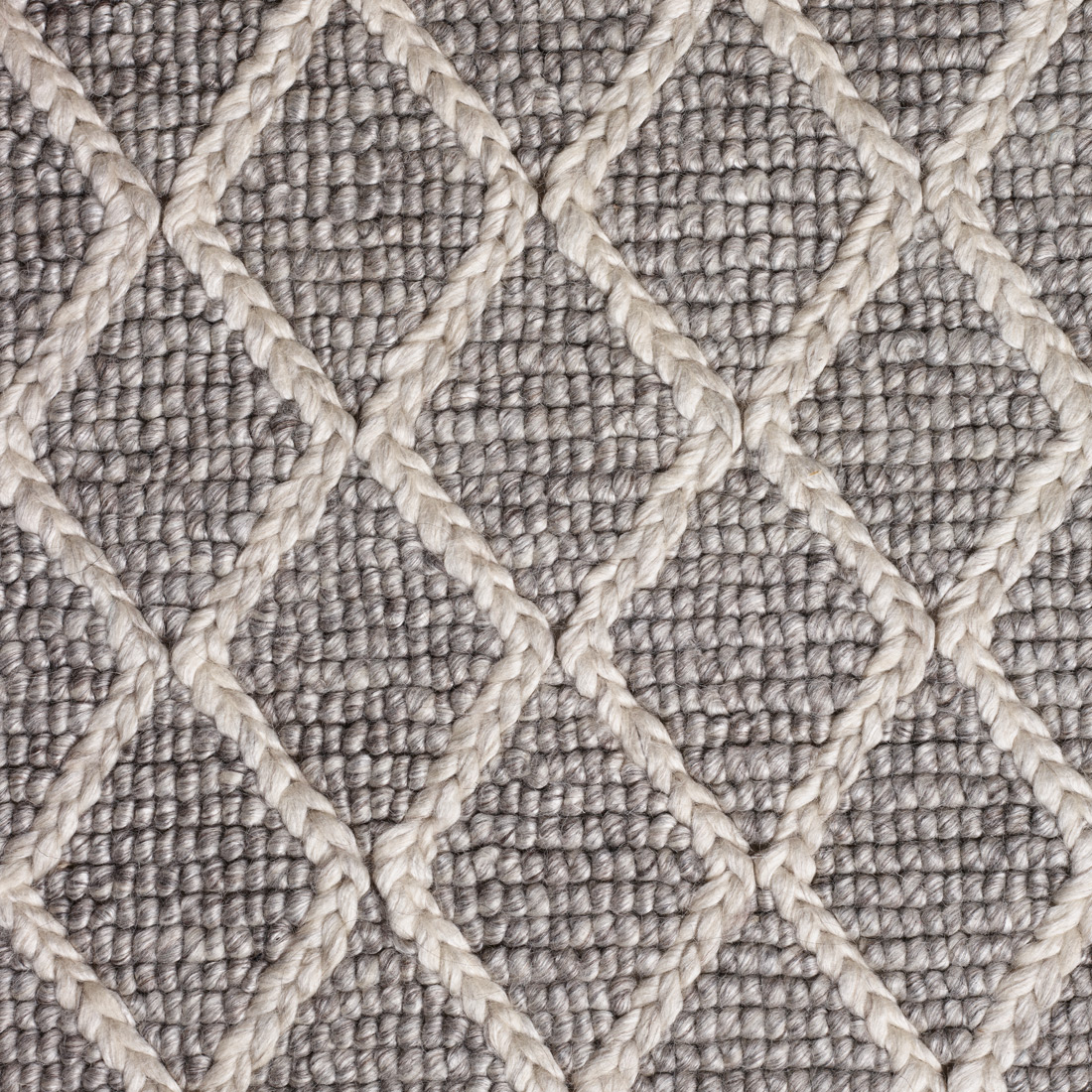 Vloerkleed Xilento Maestro Grey White | 200 x 300 cm