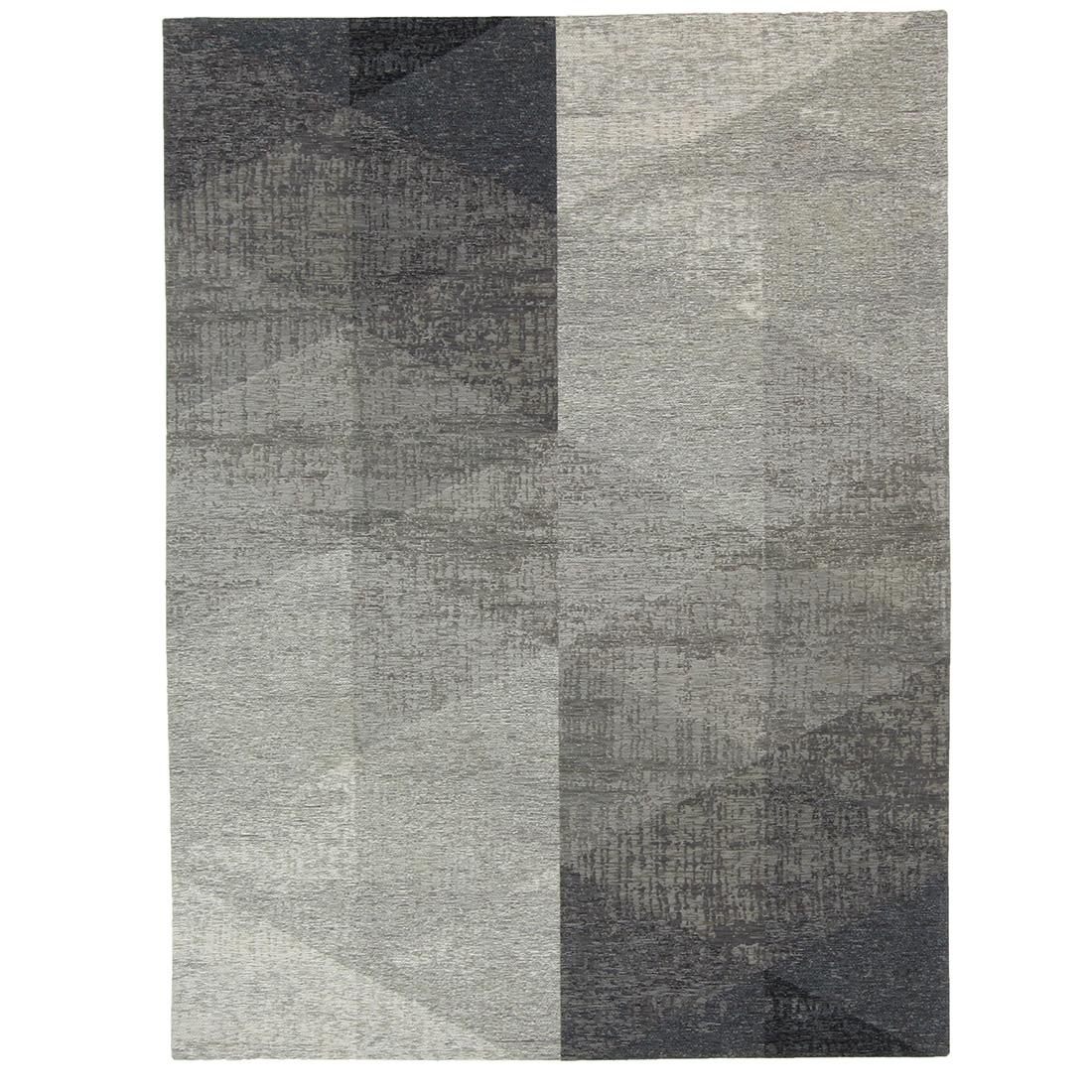 Vloerkleed Brinker Geometrics Nika Silver | 240 x 340 cm