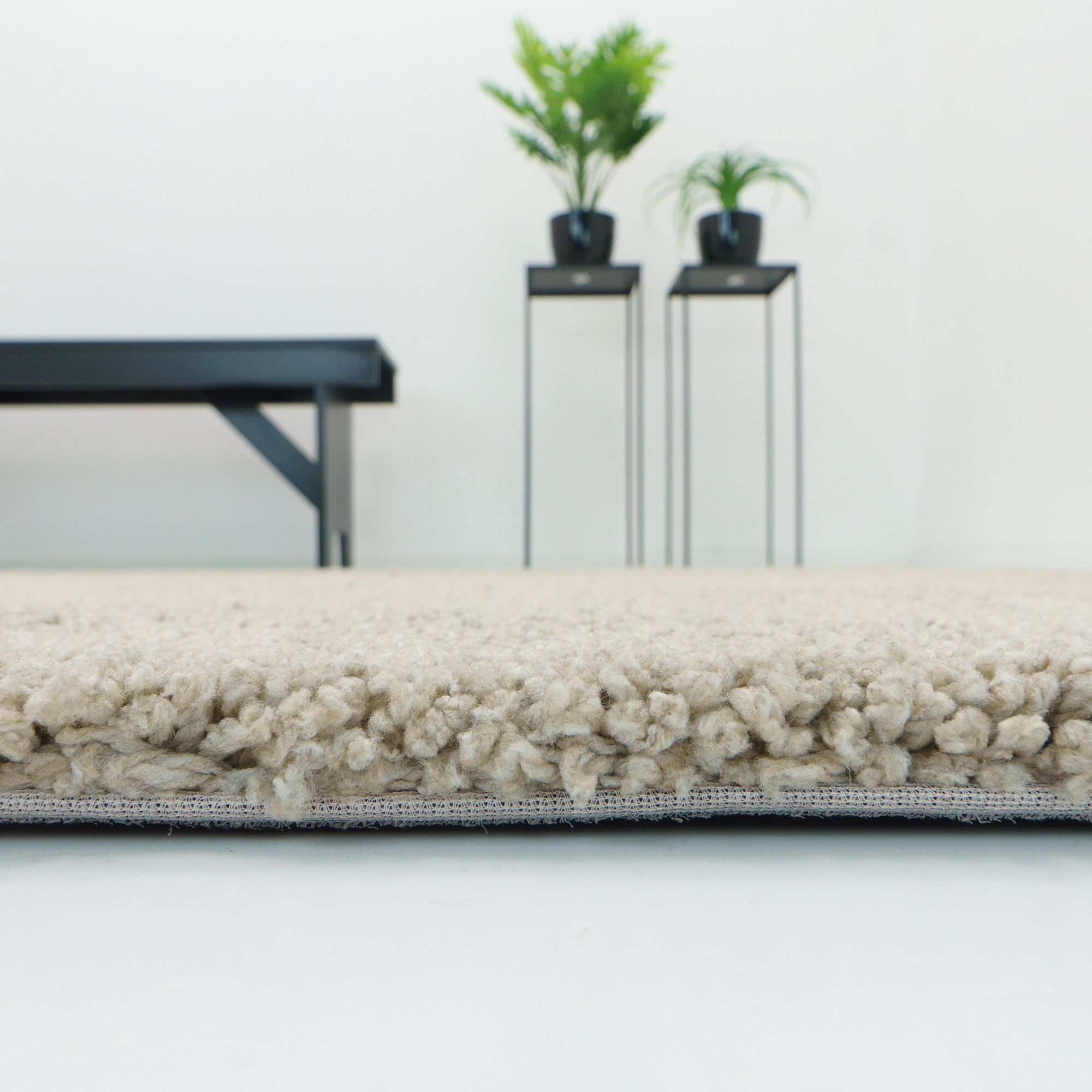 Vloerkleed Xilento Grandeur Beige | 240 x 340 cm