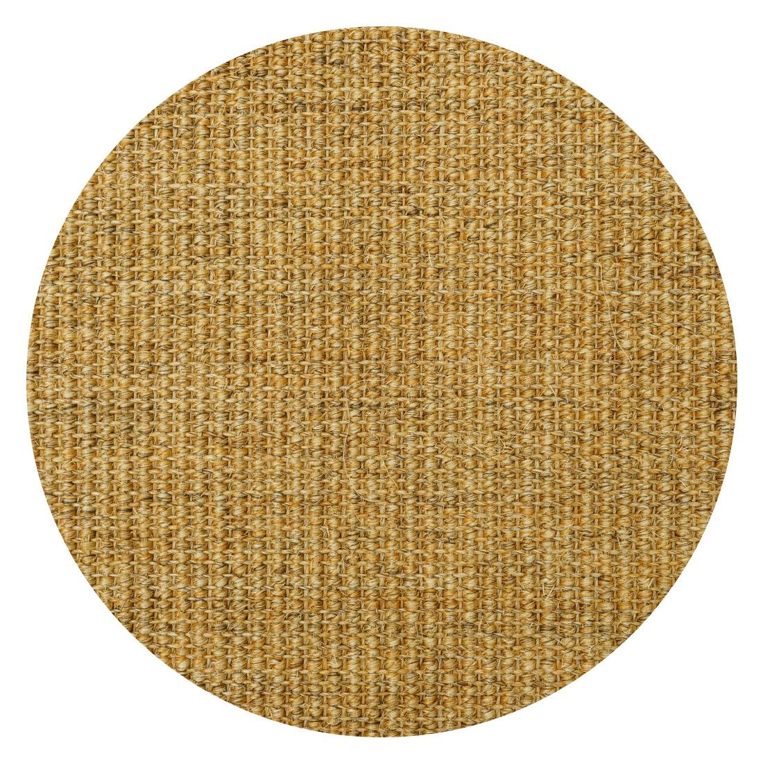 Rond Sisal Vloerkleed Lima Authentiek Gold