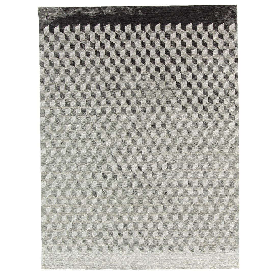 Vloerkleed Brinker Geometrics Unifi Grey | 240 x 340 cm