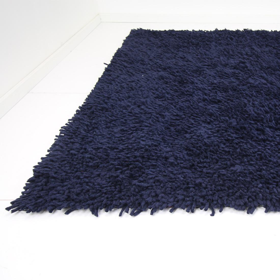Vloerkleed Salsa (wol) Blauw