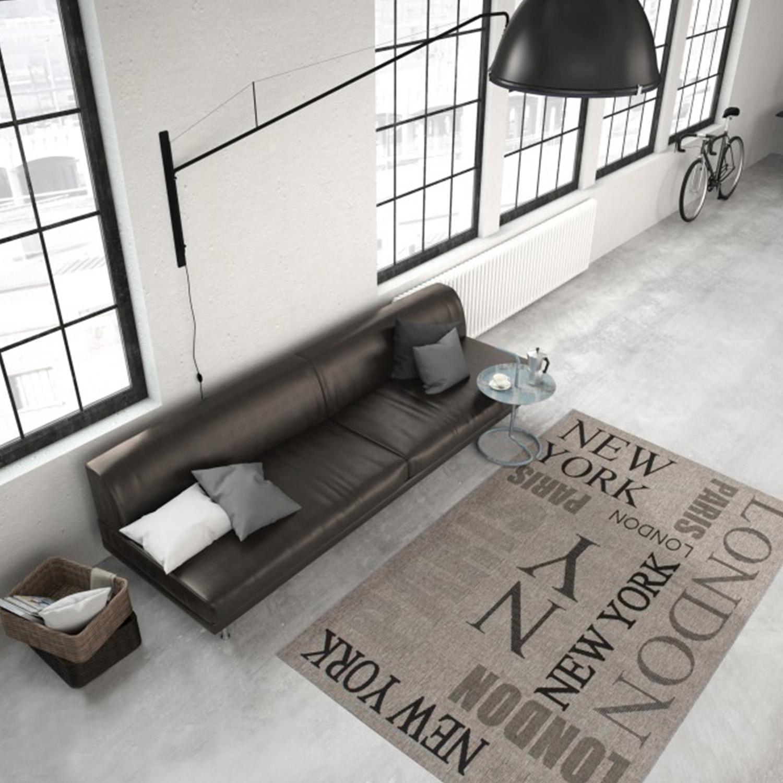 Vloerkleed Lalee Home Finca 511 Silver | 80 x 150 cm