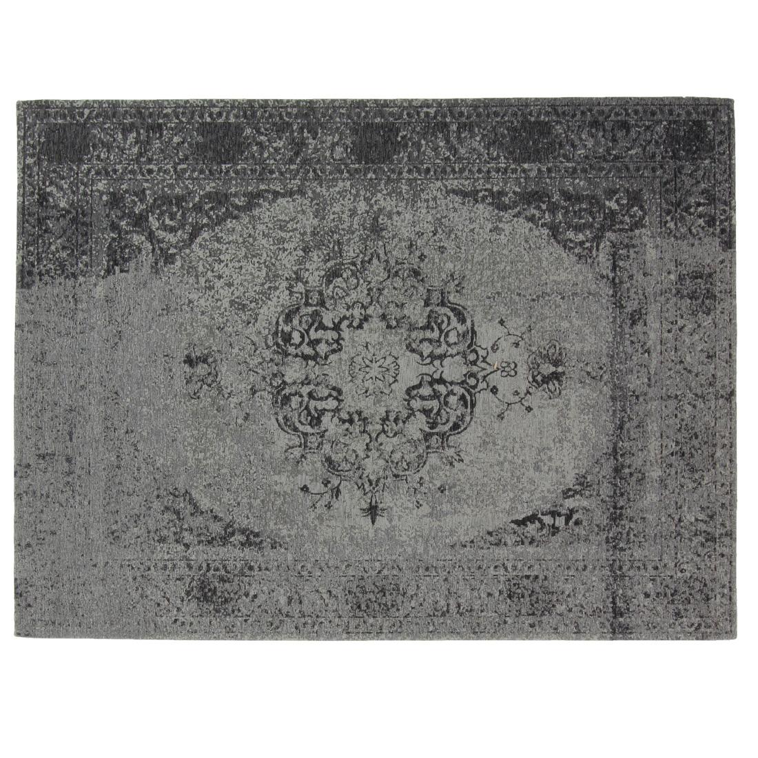 Vloerkleed Brinker Meda Grey | 240 x 340 cm