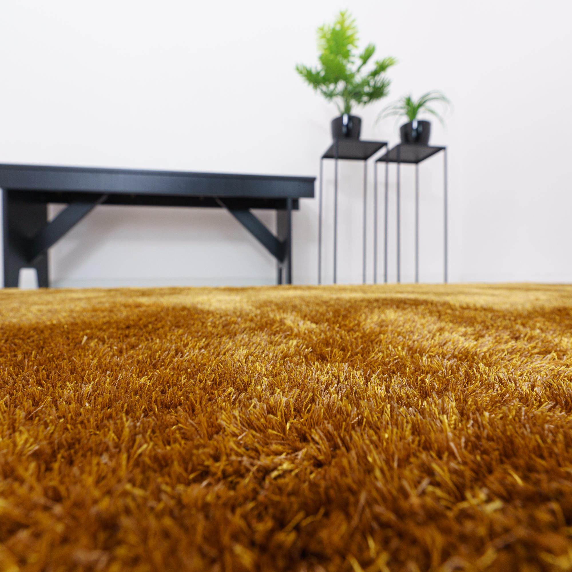 Vloerkleed Xilento Twinkle Mustard | 170 x 230 cm