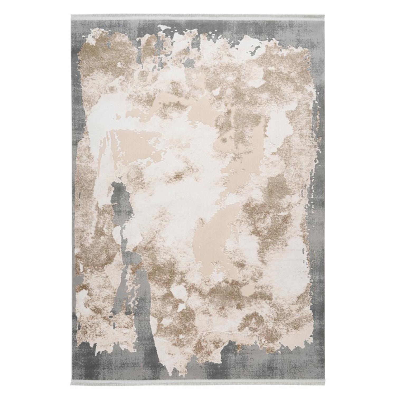 Vloerkleed Lalee Pierre Cardin Trocadero 701 Beige Silver | 160 x 230 cm