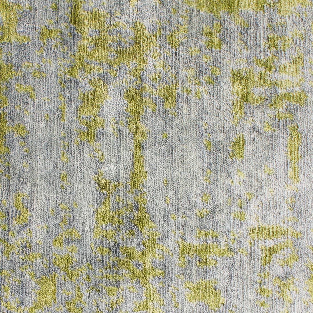 Vloerkleed Xilento Bamboo Grey Green | 170 x 230 cm