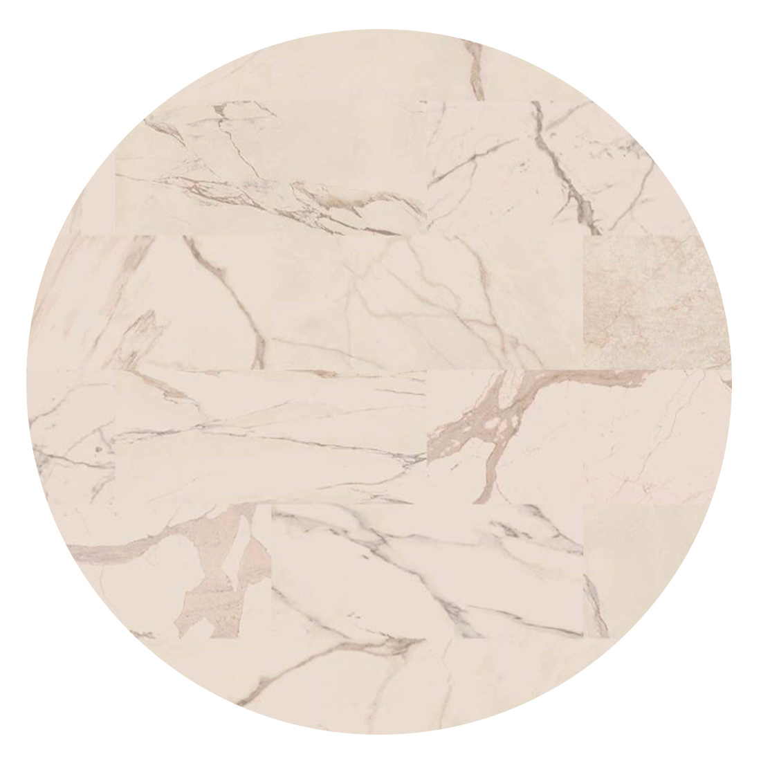 Rond Vloerkleed Desso Sense of Marble 1269