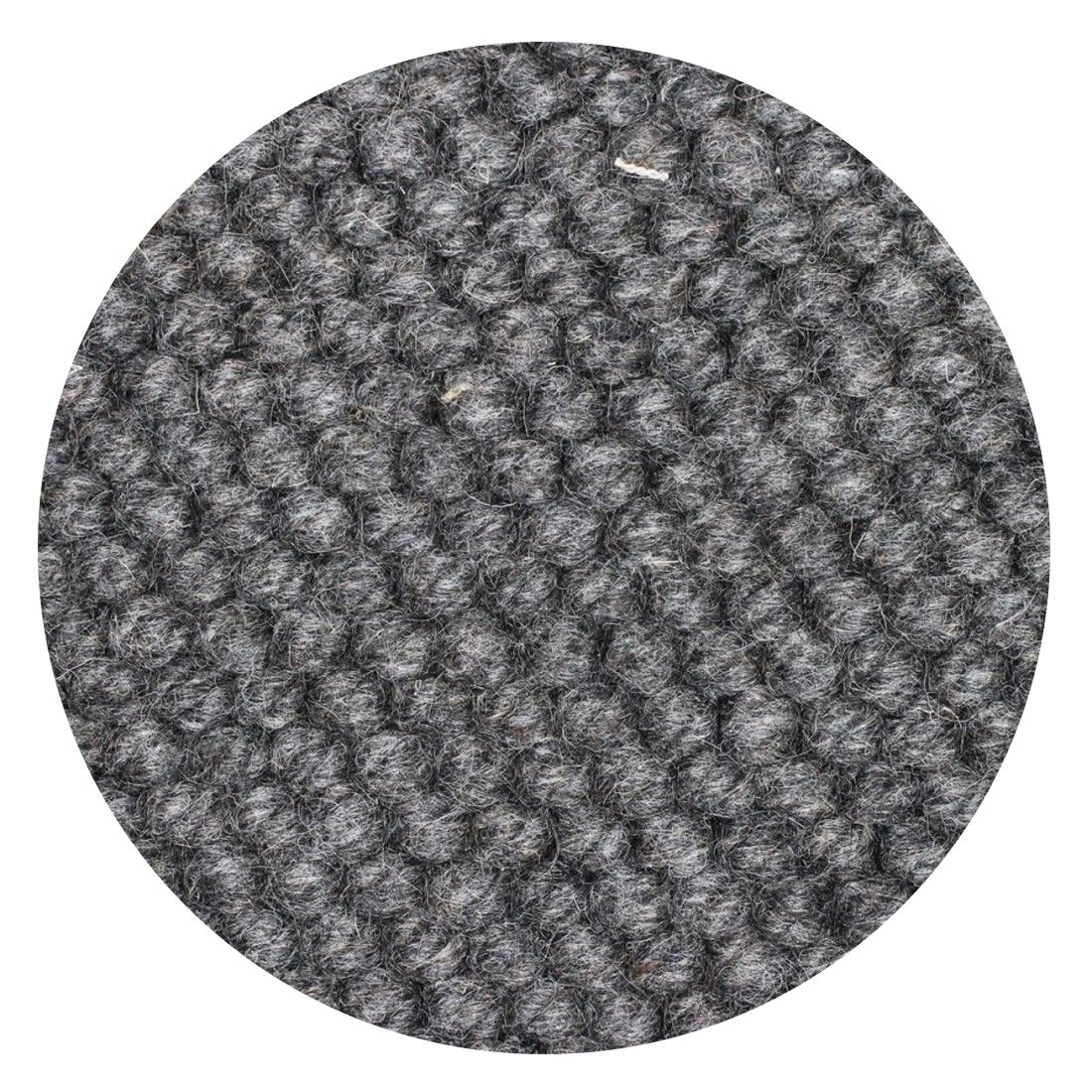 Rond Vloerkleed Nevada Antraciet Grijs 100 % New Zealand Wool