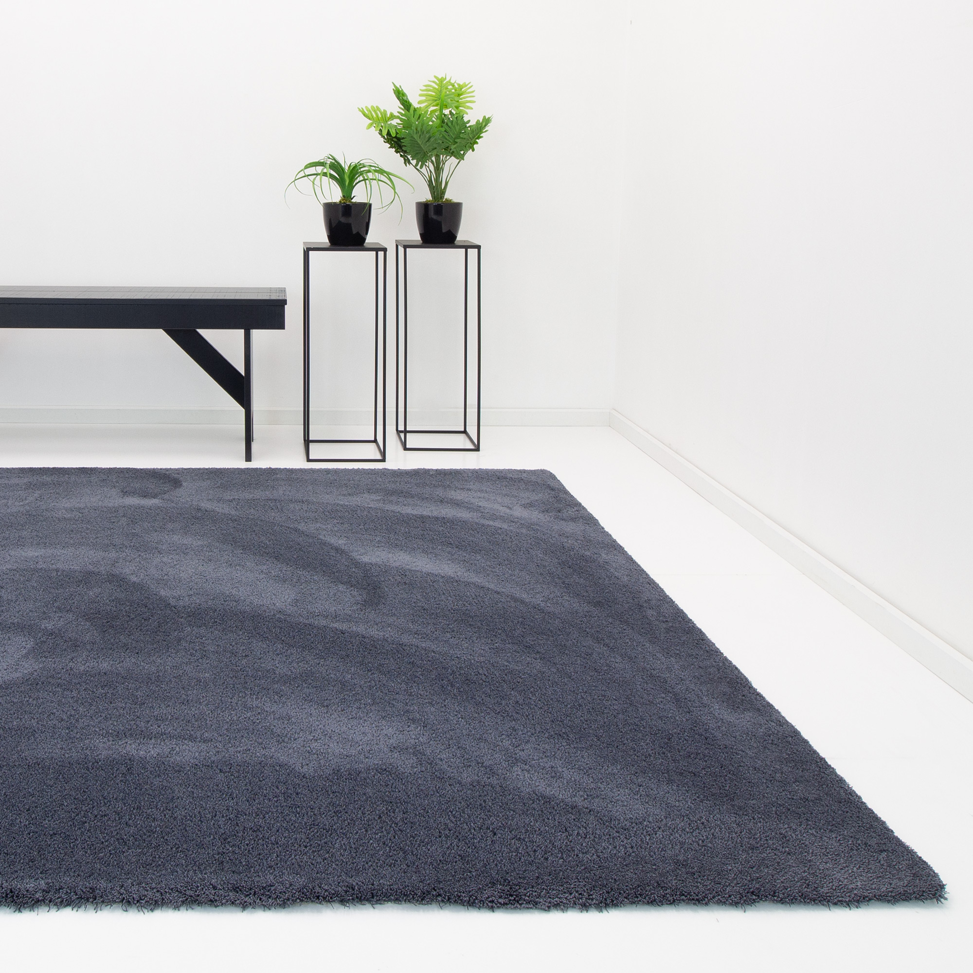 Vloerkleed Xilento Amazing Anthracite