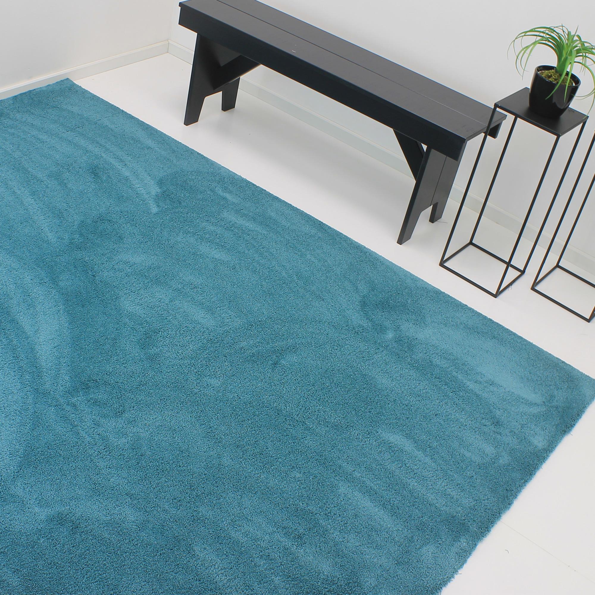 Vloerkleed Xilento Amazing Aqua | 170 x 230 cm