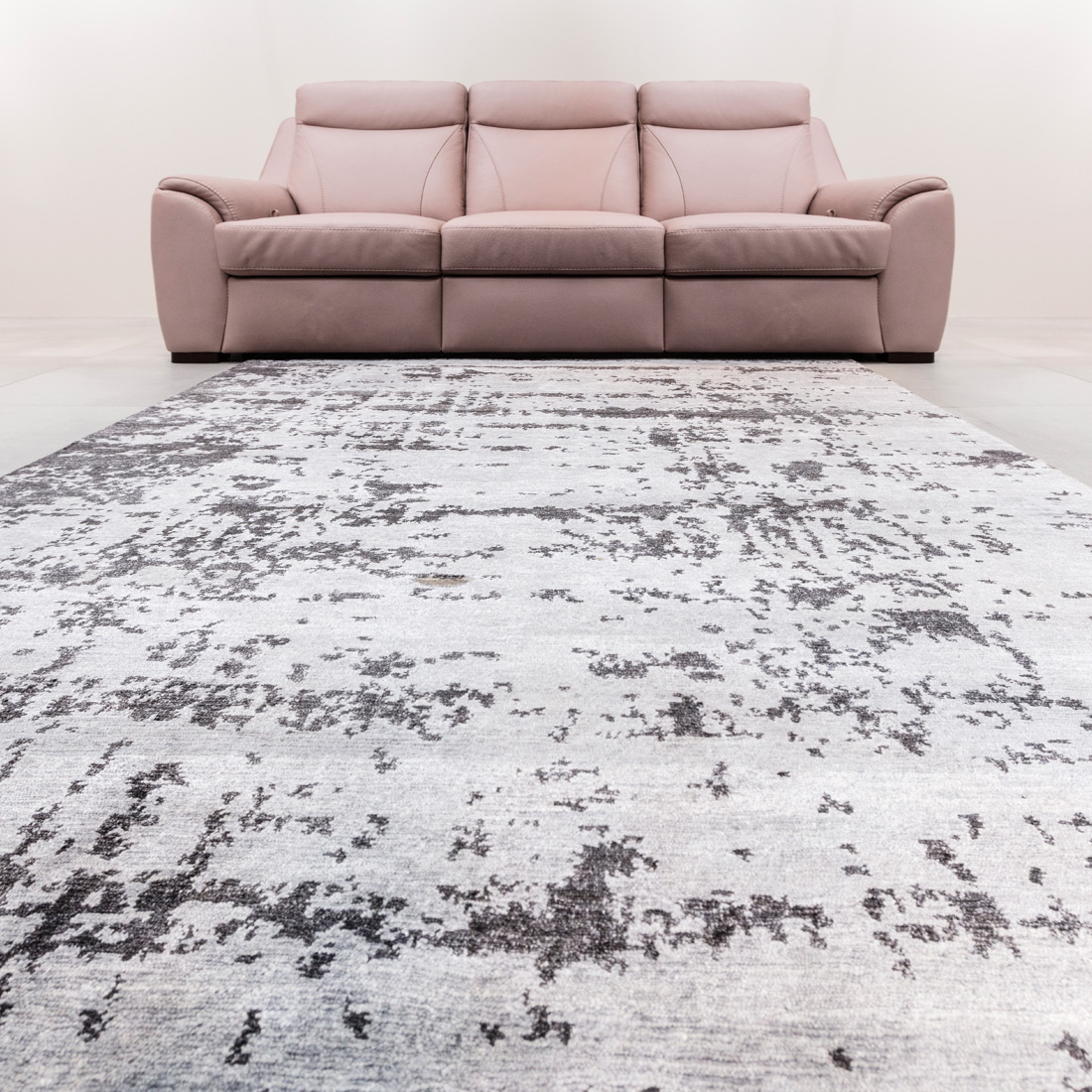 Vloerkleed Xilento Bamboo Grey | 200 x 300 cm