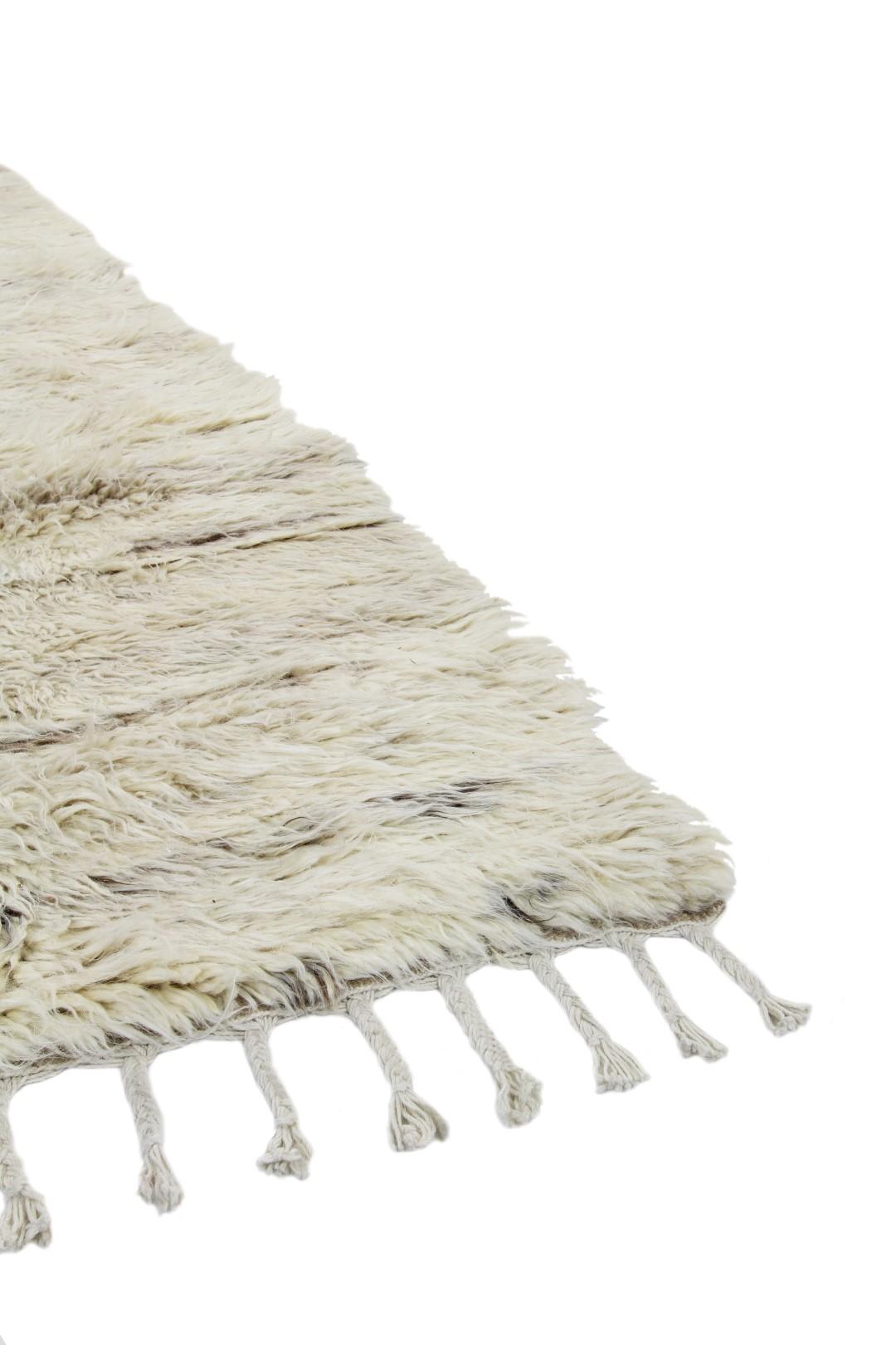Vloerkleed Brinker Afghano White Natural | 170 x 230 cm