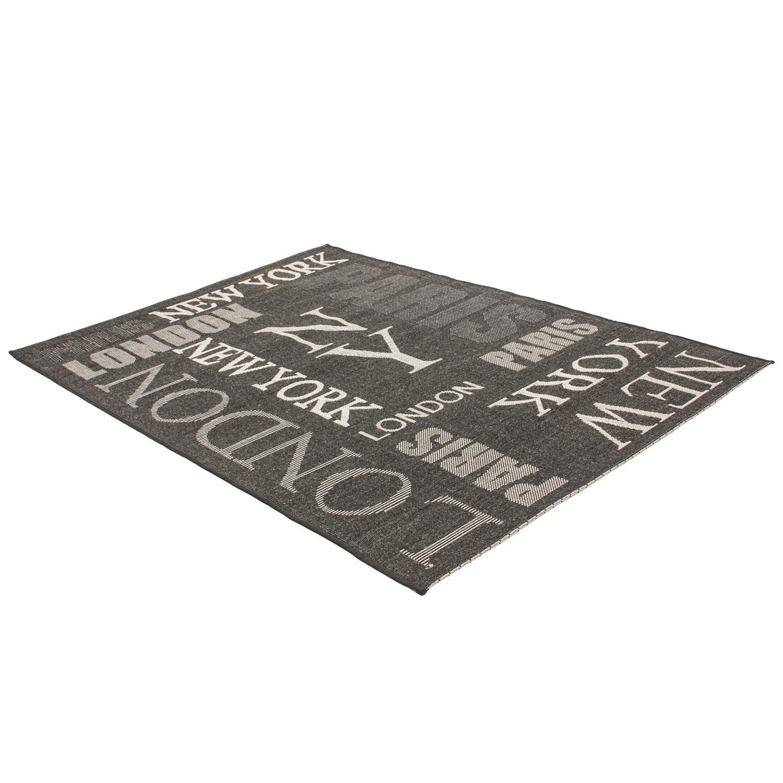 Vloerkleed Lalee Home Finca 511 Graphite | 120 x 170 cm