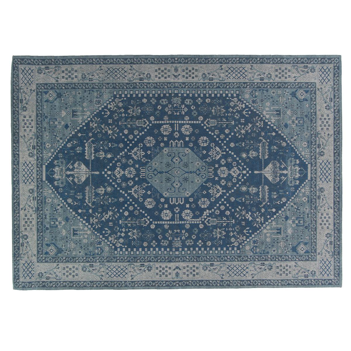 Vloerkleed Brinker Avanti Azur Blue | 160 x 240 cm