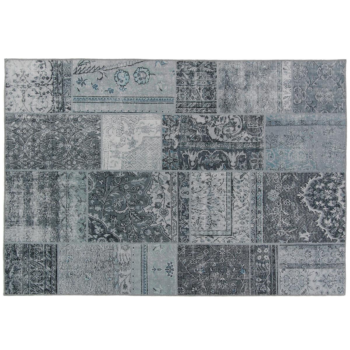 Vloerkleed Brinker Bukan Grey | 160 x 230 cm
