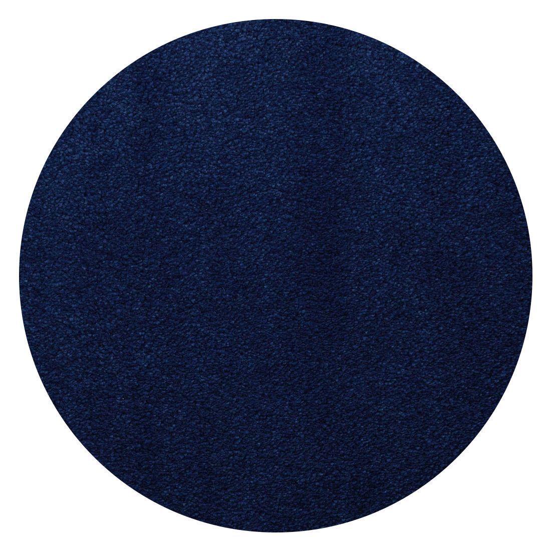 Rond Vloerkleed Xilento Intense Kobaltblauw