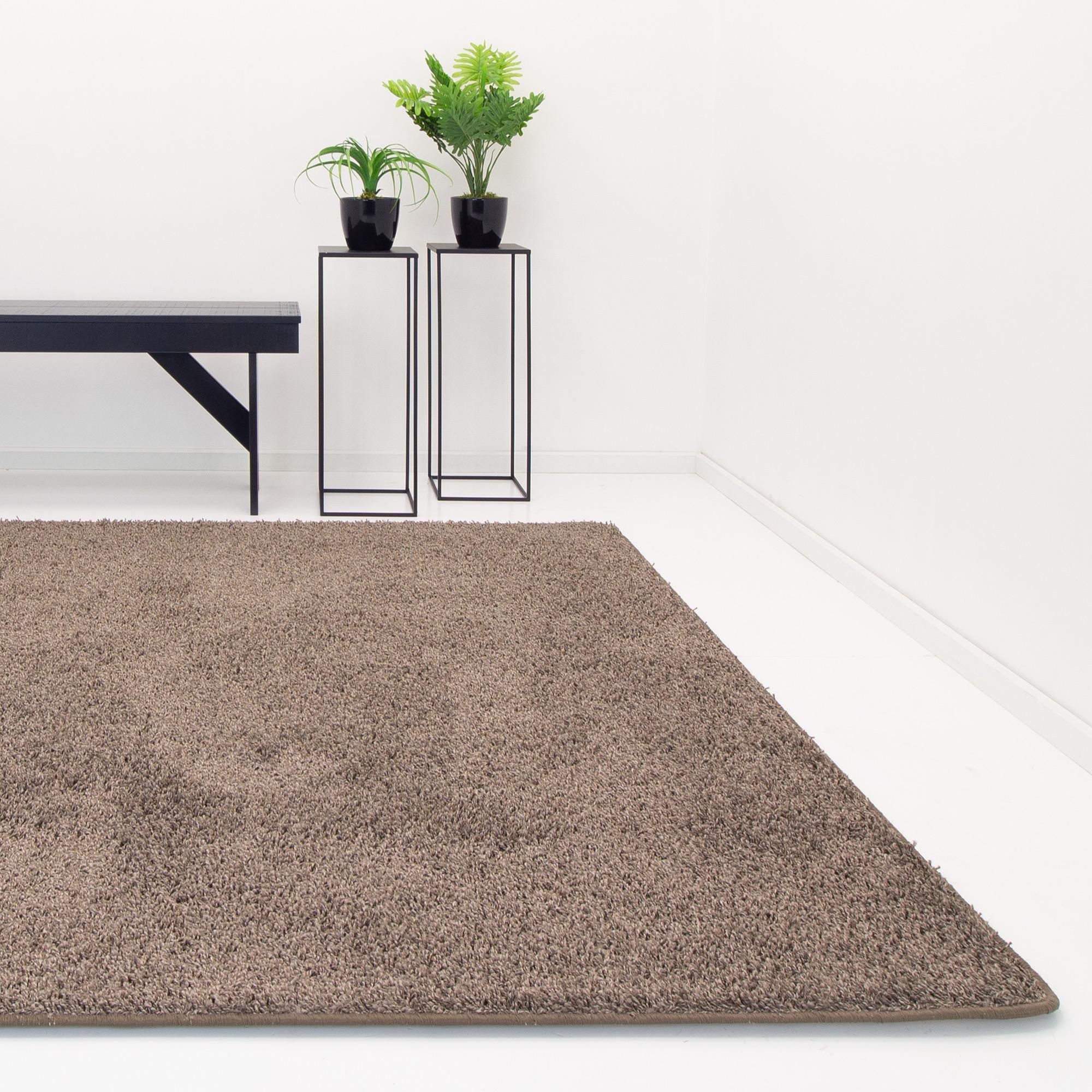 Karpet Houston Bruin Grijs | 200 x 300 cm