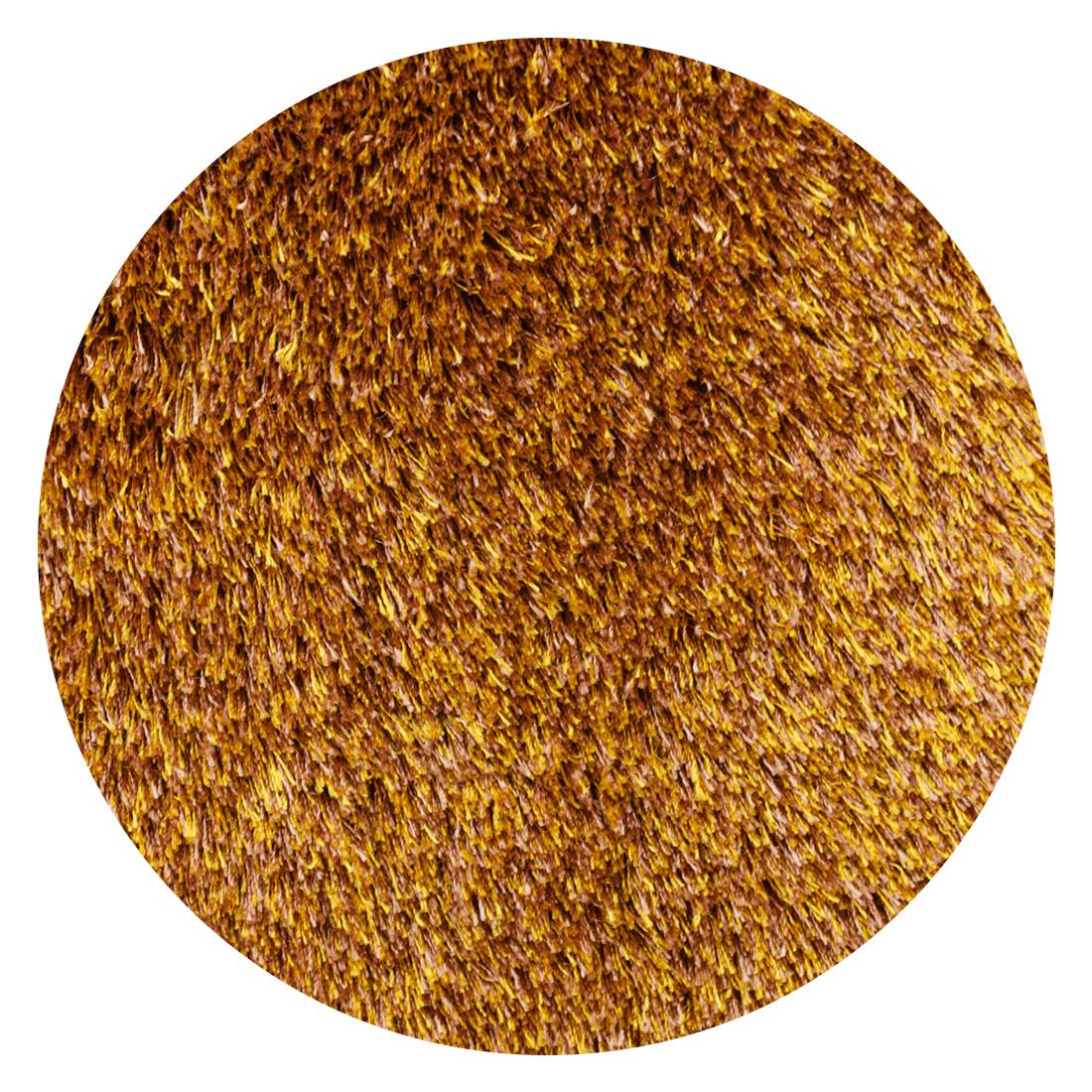 Rond Vloerkleed Xilento Sparkle Mustard