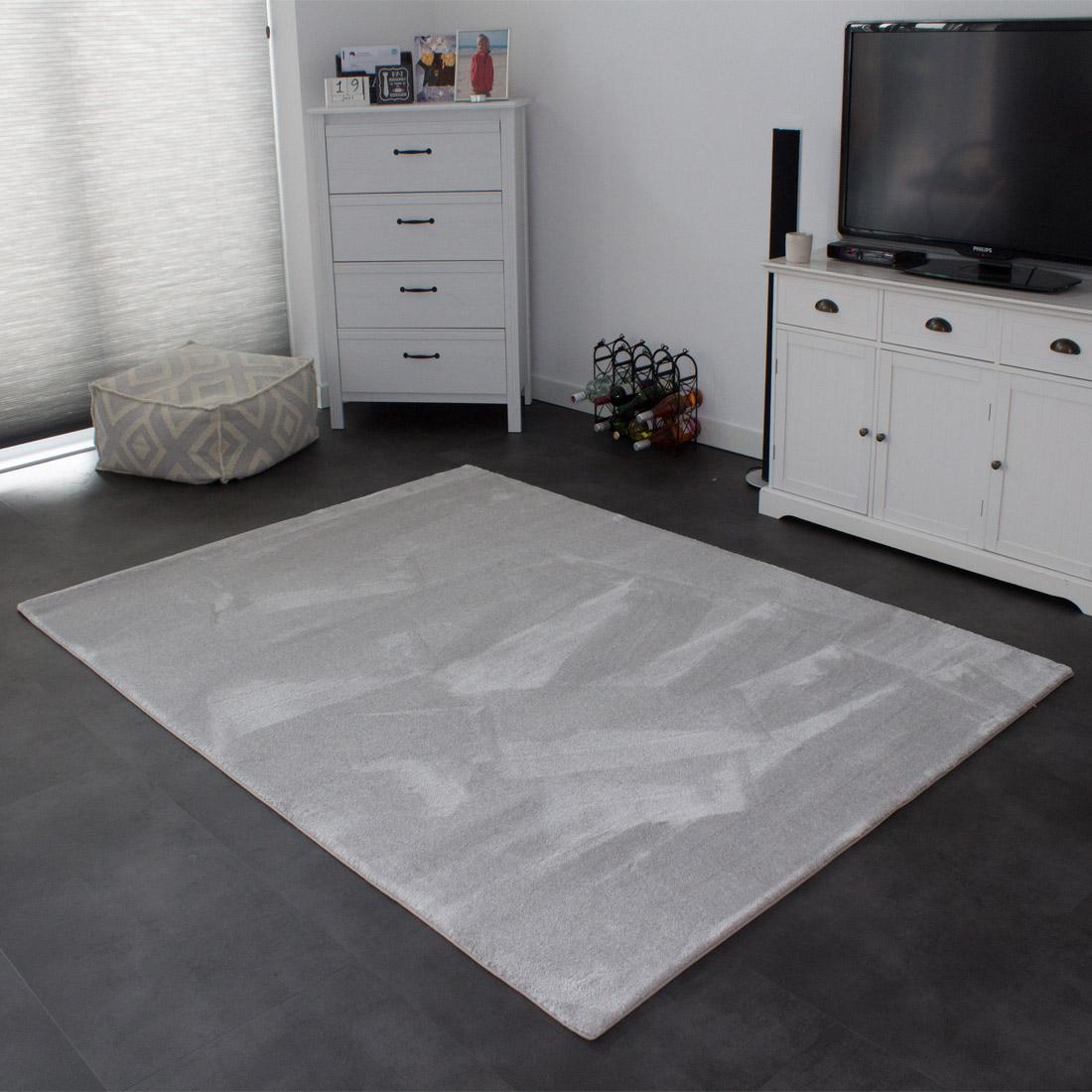 Vloerkleed Xilento Soft Pristine | 200 x 300 cm
