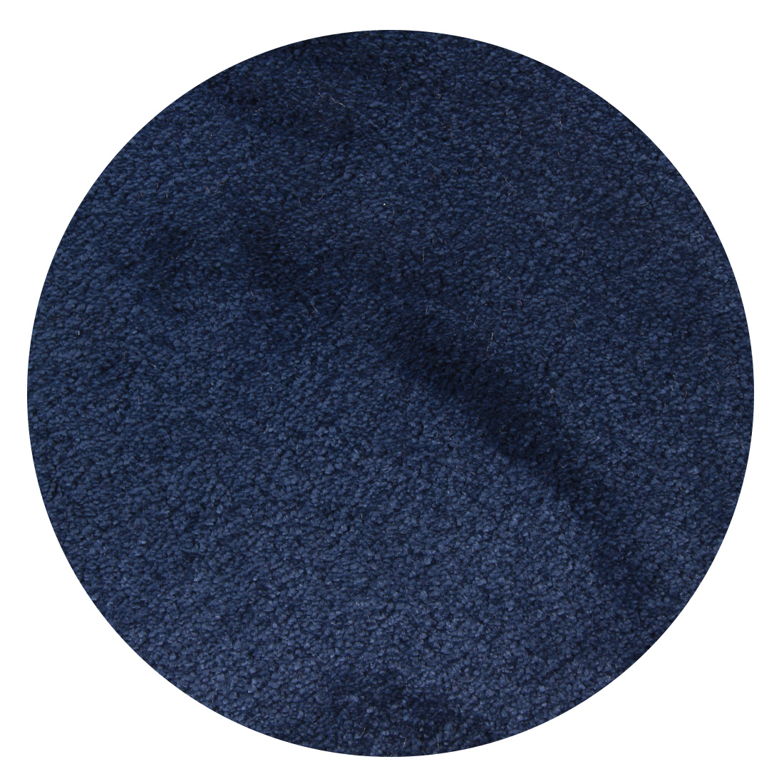 Rond Vloerkleed Xilento Touch Royal Blue (extra zacht)