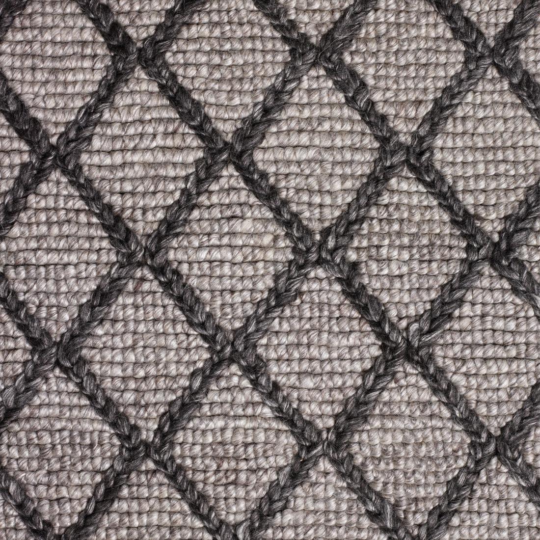 Vloerkleed Xilento Maestro Grey Black | 200 x 300 cm