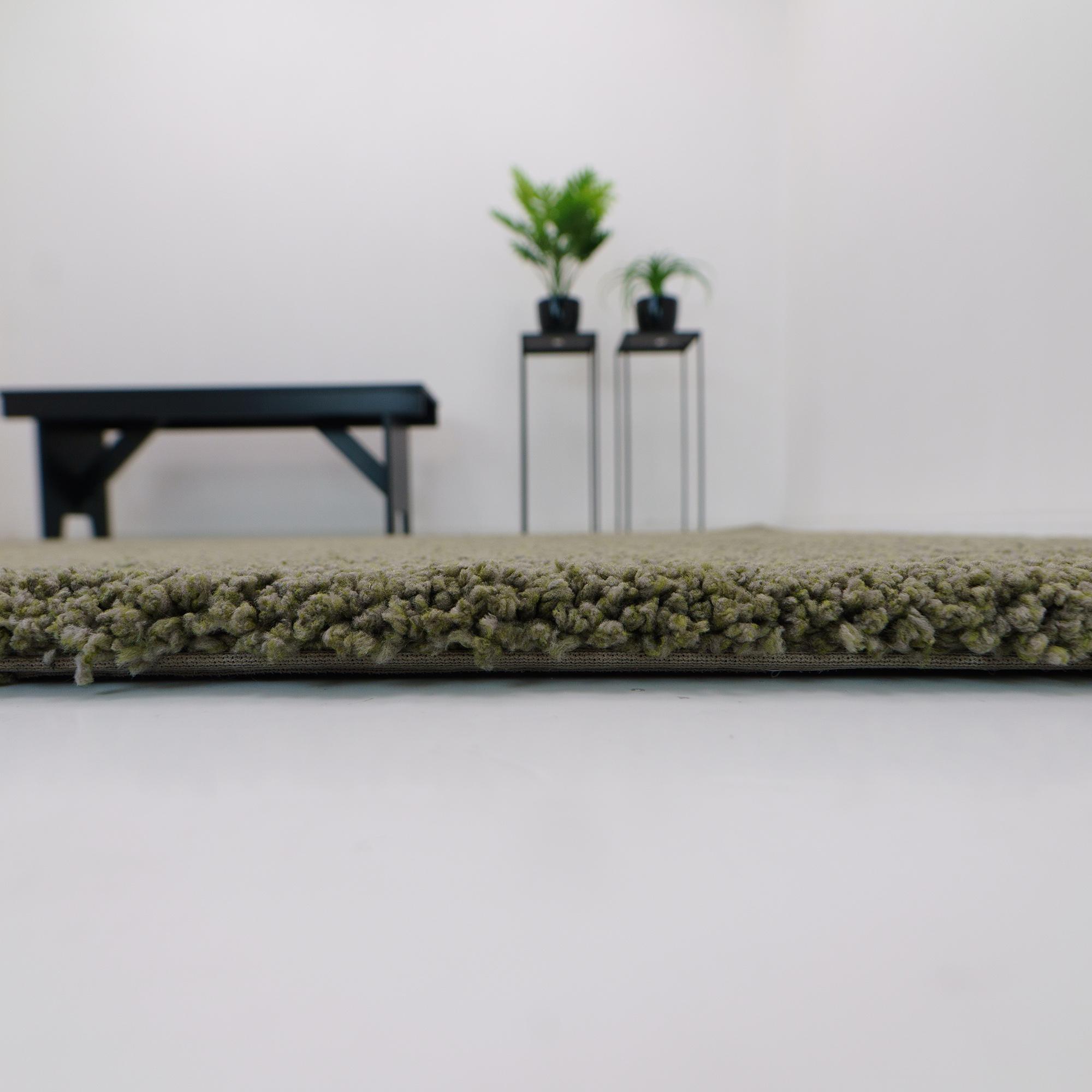 Vloerkleed Xilento Grandeur Green | 160 x 240 cm
