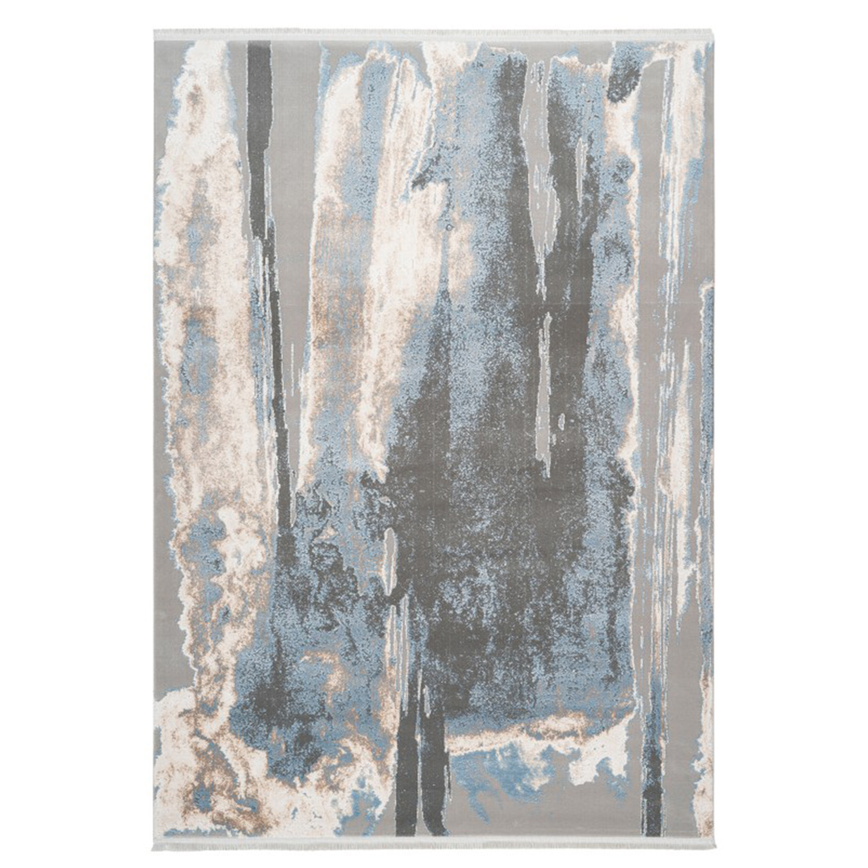 Vloerkleed Lalee Pierre Cardin Trocadero 702 Blue | 80 x 150 cm