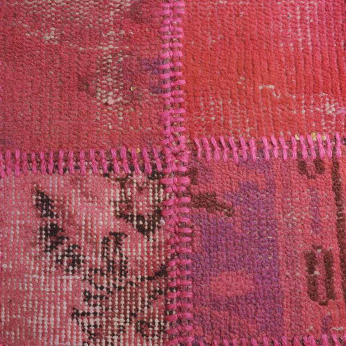 Vintage Vloerkleed Antique Handgeknoopt Pink | 170 x 230 cm