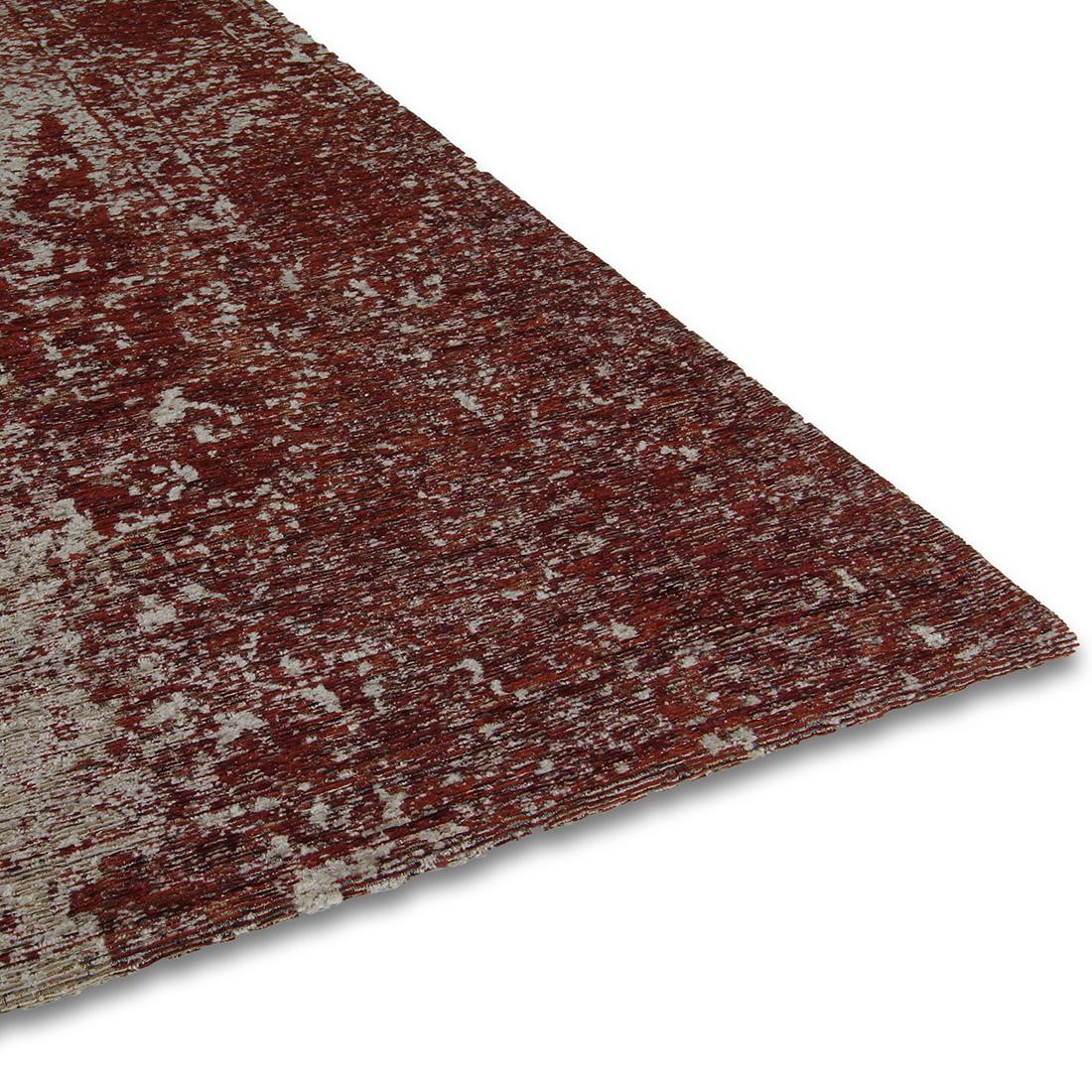 Vloerkleed Brinker Meda Wine Red | 170 x 230 cm