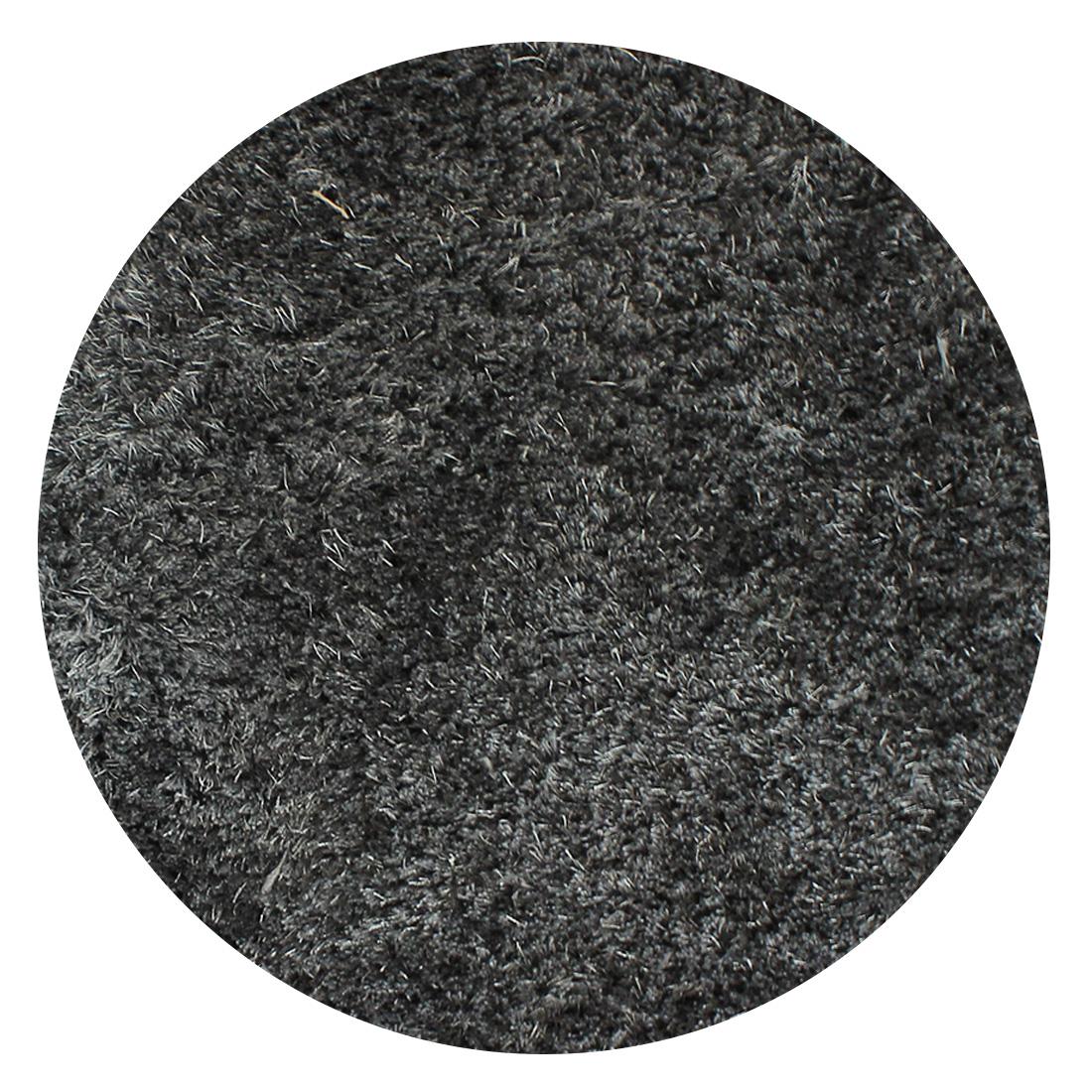 Rond Vloerkleed Xilento Velvet Chroom