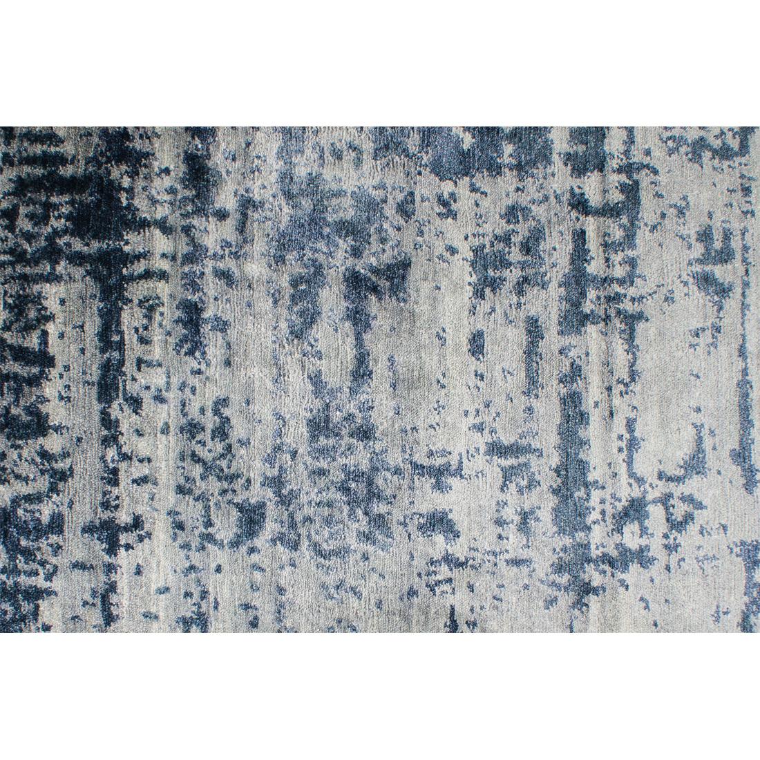 Vloerkleed Xilento Bamboo Grey Blue | 240 x 340 cm