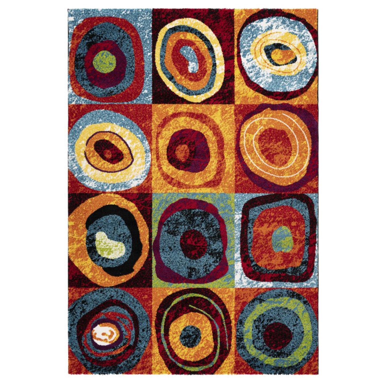 Vloerkleed Lalee Home Espo 307 Circles | 80 x 150 cm