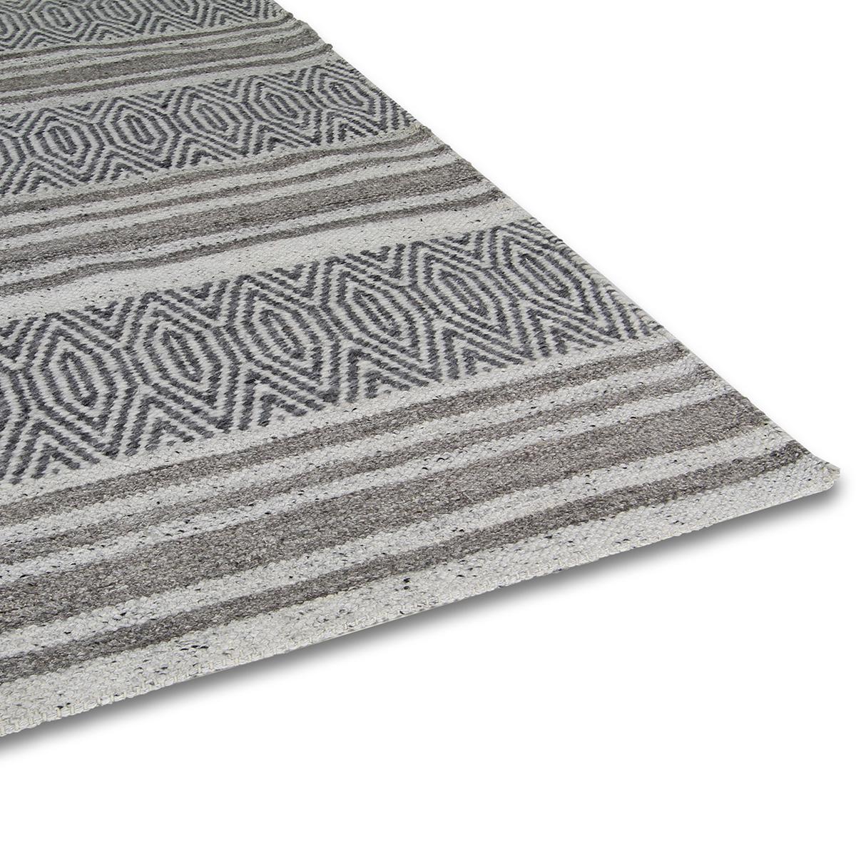 Vloerkleed Brinker Rain Grey | 160 x 230 cm