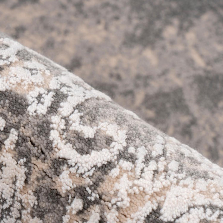 Vloerkleed Lalee Pierre Cardin Trocadero 703 Silver | 80 x 150 cm