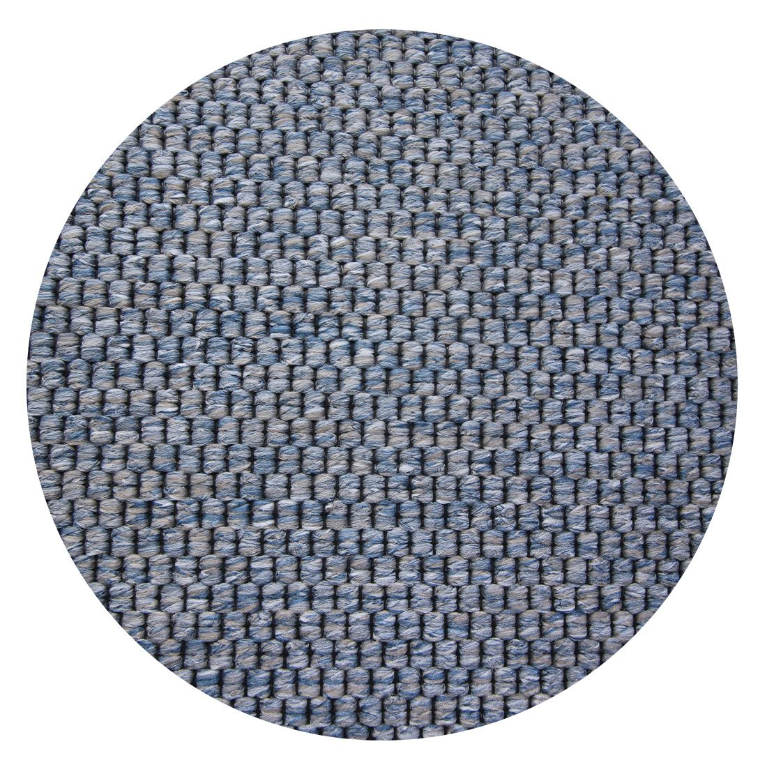 Rond Vloerkleed Casablanca Natura Geweven Denim