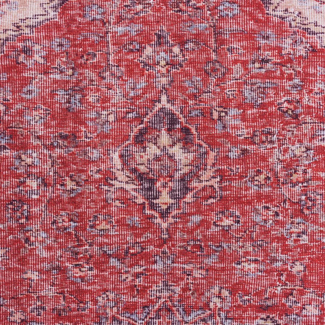 Vloerkleed Xilento Vintage Voice Red | 150 x 225 cm