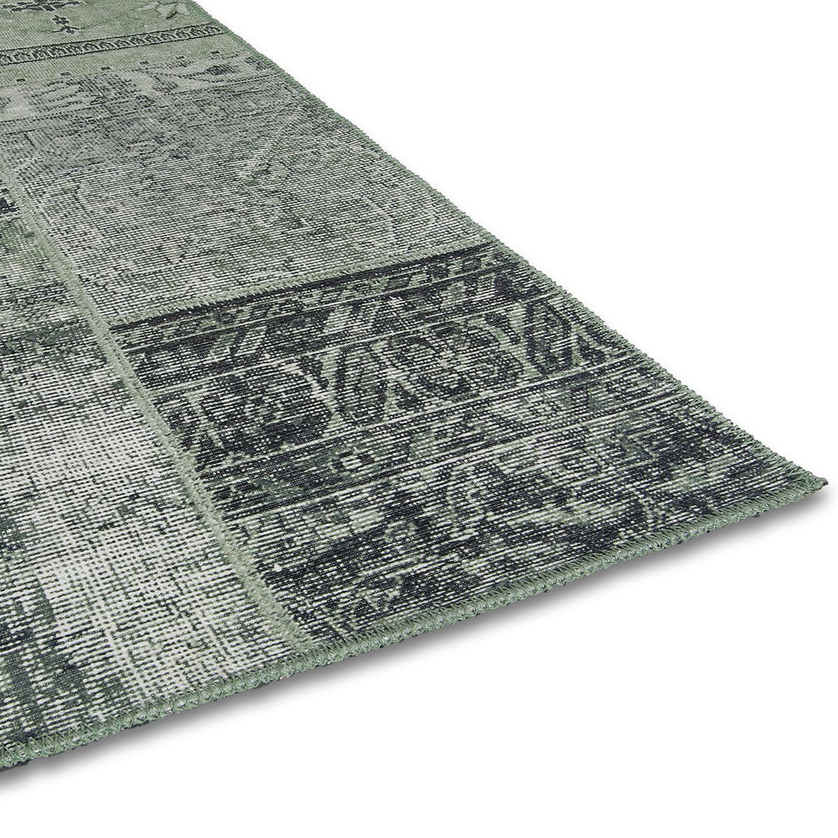 Vloerkleed Brinker Bukan Dark Green | 160 x 230 cm