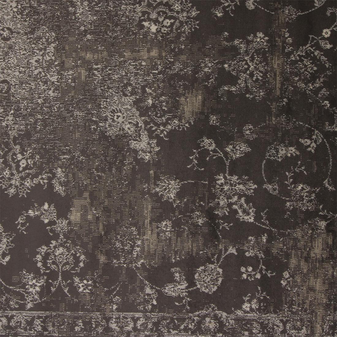 Vloerkleed Xilento Vintage Viscose Grey | 160 x 230 cm