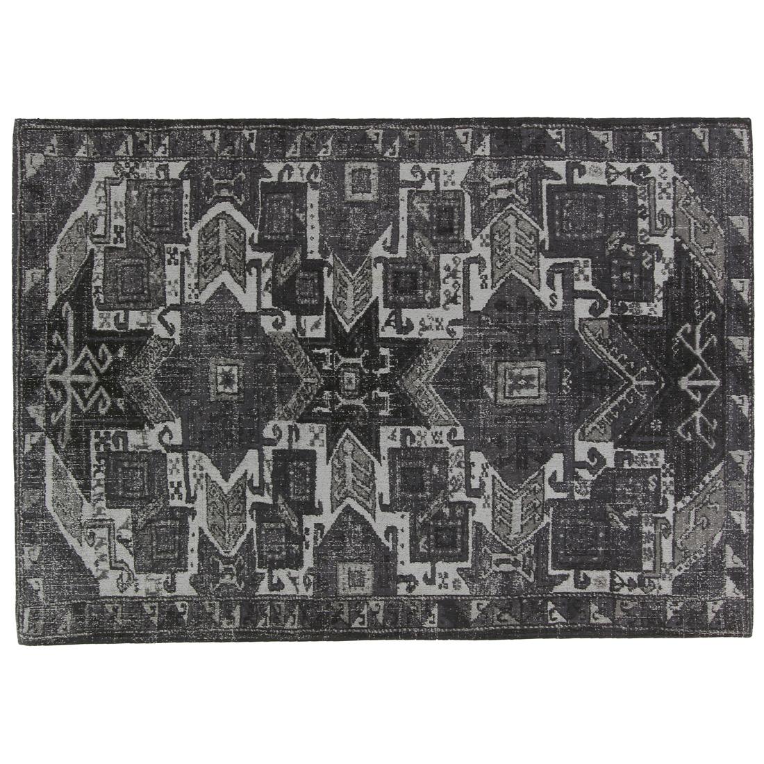 Vloerkleed Brinker Aura Ash Grey | 160 x 240 cm